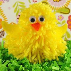可爱还不用照顾!用毛线制作小鸡玩偶的方法