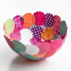 这些奇奇怪怪的材料 竟然都可以做成漂亮碗盘