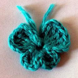 怎么编织毛线蝴蝶图解 钩针蝴蝶的编法步骤