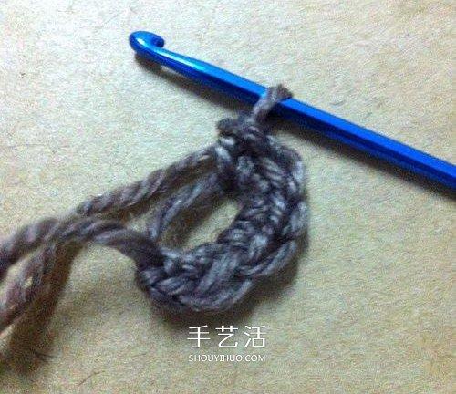 每日勤勞采蜜忙!毛線蜜蜂的鉤針編織方法