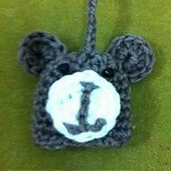 毛线猴头的编织方法 手工钩针编织猴子头图解