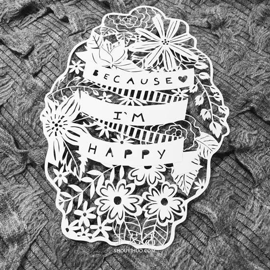 大师级平面纸雕作品大全 让A4纸价值翻万倍! -  www.shouyihuo.com