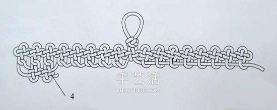 如意扇的編法圖解步驟 手工中國結如意扇做法