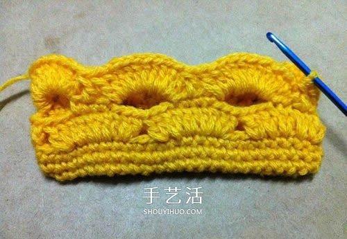 鏤空毛線收納包怎麼編織 鉤針包包的編法圖解