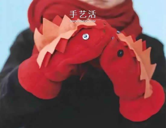 手套、襪子改造手偶 自製布玩具可以這麼簡單