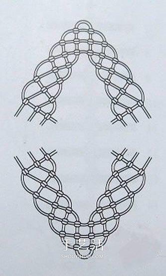 斜卷結編織壽桃的方法 中國結桃子怎麼編圖解