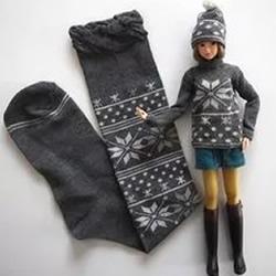 简单用袜子做娃娃衣服 除了穿还有这些用途!