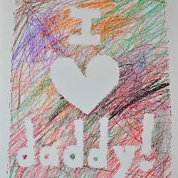 只会涂鸦也不怕!简单有创意的父亲节卡片DIY