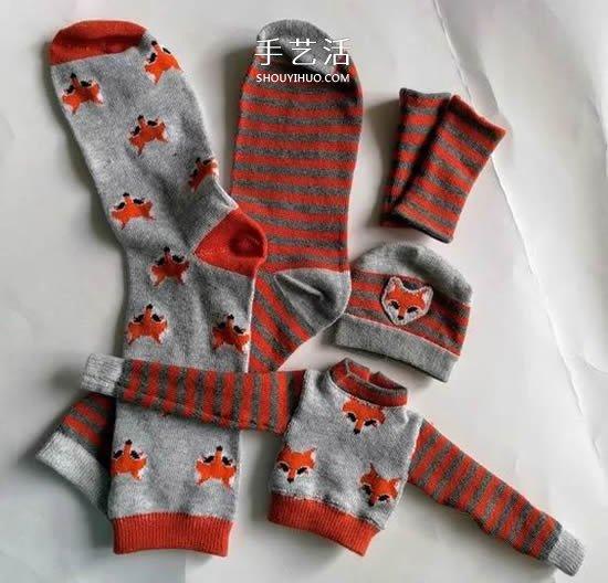 簡單用襪子做娃娃衣服 除了穿還有這些用途!