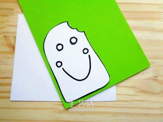 简单又有创意!父亲节雪糕卡片手工制作教程 -  www.shouyihuo.com