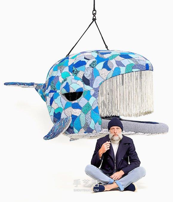 创造取代破坏!编织技艺打造疗癒野生动物椅 -  www.shouyihuo.com