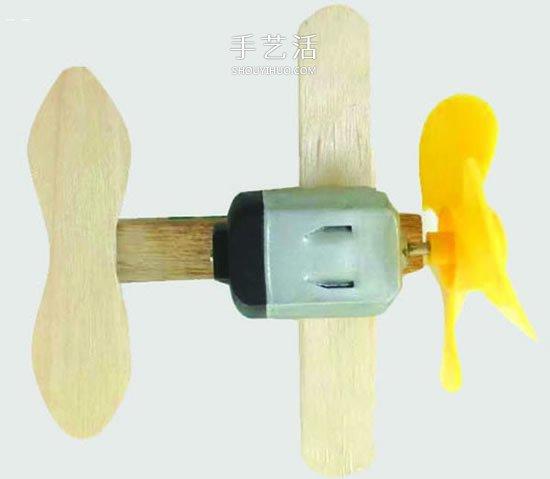 自制电动马达滑翔机 用小马达做简单的飞机 -  www.shouyihuo.com