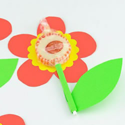 六一儿童节小礼物DIY 手工卡纸棒棒糖制作