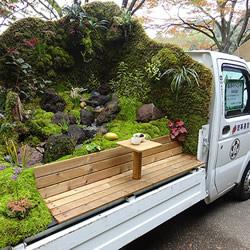 景观艺术家的移动庭院 卡车上也能尽情玩园艺