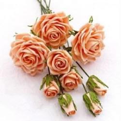 彩纸手工制作玫瑰花 超详细彩纸玫瑰的做法
