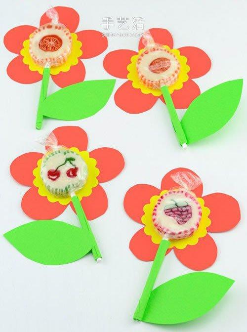 六一兒童節小禮物DIY 手工卡紙棒棒糖製作