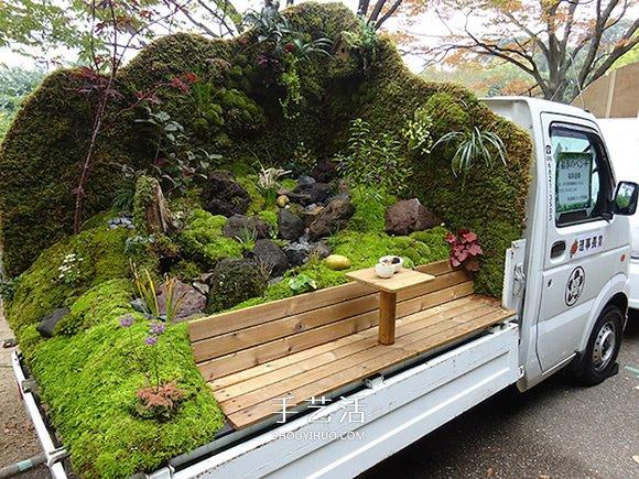 景观艺术家的移动庭院 卡车上也能尽情玩园艺 -  www.shouyihuo.com
