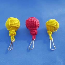 绳子编织球体的方法 怎么用绳编圆球小挂件