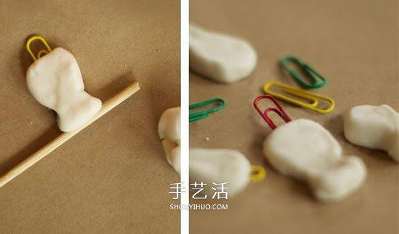 超轻粘土制作钓鱼玩具 儿童自制钓鱼玩具做法 -  www.shouyihuo.com