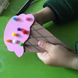 幼儿自制纸冰激凌的方法 用卡纸制作冰激凌