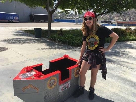 自製紙板船的方法步驟 用廢紙箱做船的教程