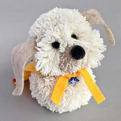 毛线球创意DIY LadBrokes官网做一只超萌带披风的狗狗