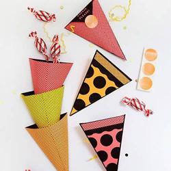 简单手工做三角形糖果盒 自制漂亮糖果盒做法