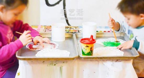 简单蛋糕纸蝴蝶的做法 幼儿手工蝴蝶制作教程 -  www.shouyihuo.com