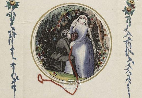 200年前的过节方式 藏在蜘蛛网里的情人节卡片 -  www.shouyihuo.com