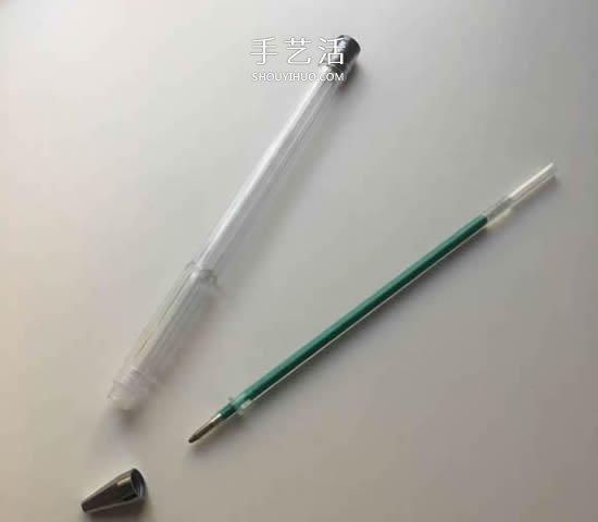 简单自制油水笔的方法图解 好看又好玩! -  www.shouyihuo.com
