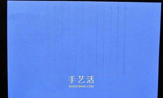 胶带纸贴一下 自制漂亮彩虹卡片超简单! -  www.shouyihuo.com
