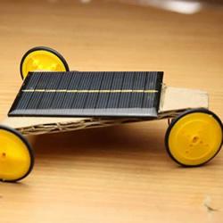 简单自制太阳能小车制作方法过程