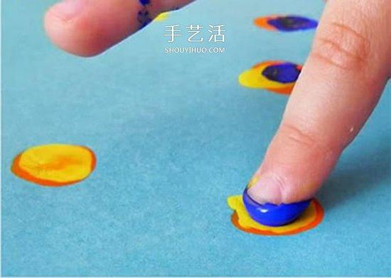 幼儿园手工制作孔雀开屏的方法图解教程 -  www.shouyihuo.com