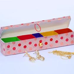 牙膏盒废物利用 手工制作珠宝首饰盒的方法