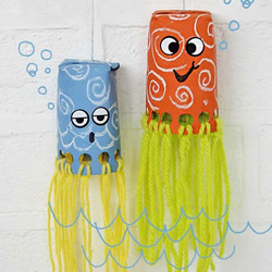 儿童房间章鱼挂饰的制作方法 简单又可爱!