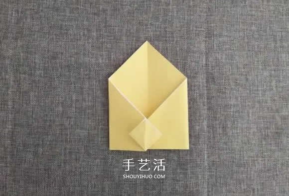 简单又可爱小动物信封的折法步骤图集 -  www.shouyihuo.com