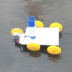 自制电动马达小汽车的制作方法超简单