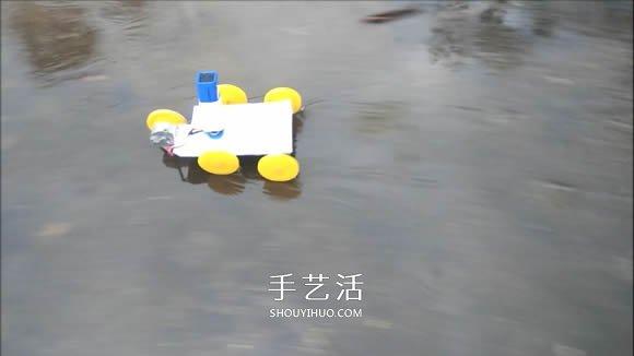 自製電動馬達小汽車的製作方法超簡單