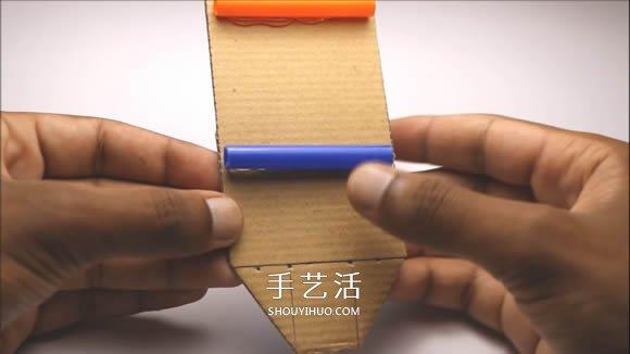 自制电动马达小汽车的制作方法超简单 -  www.shouyihuo.com