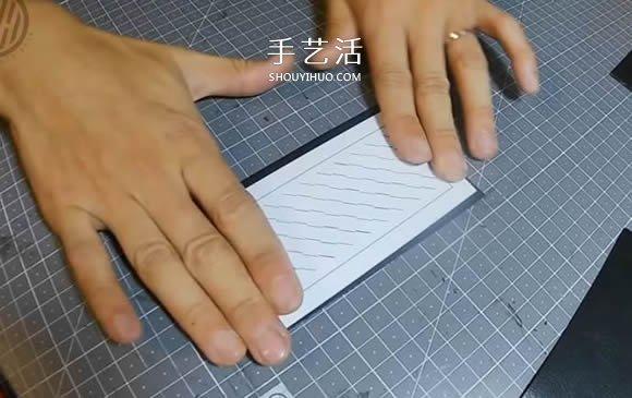 自制皮革编织卡包的制作方法 时尚男款! -  www.shouyihuo.com