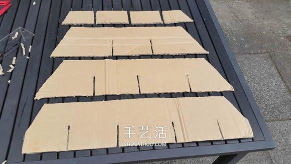 纸箱房子的制作教程 让孩子开一家披萨店 -  www.shouyihuo.com