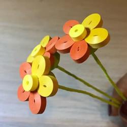 衍纸五瓣花的基础入门手工制作教程