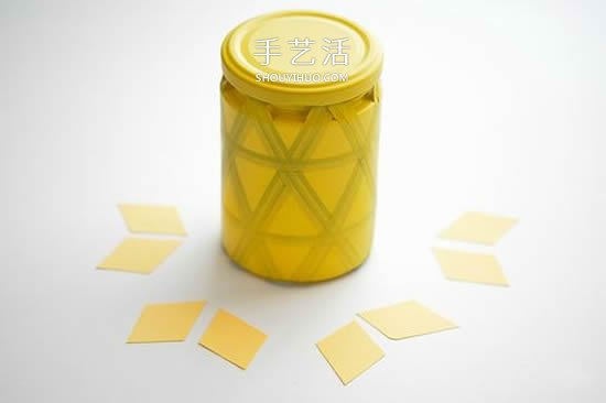 带针插玻璃收纳罐的简单制作方法教程 -  www.shouyihuo.com