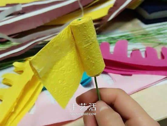 手揉纸花的手工制作教程 新手也能轻松完成! -  www.shouyihuo.com