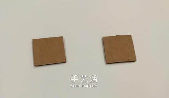硬紙板手工製作乒乓球彈射器玩具的方法