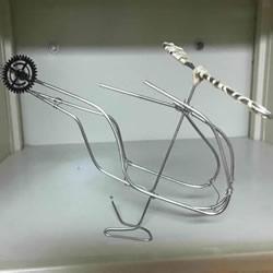 自制好看又好玩铝线直升飞机模型的制作方法