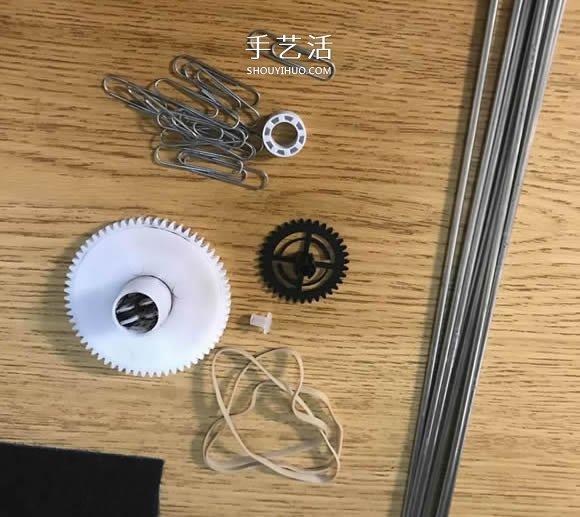 自製好看又好玩鋁線直升飛機模型的製作方法