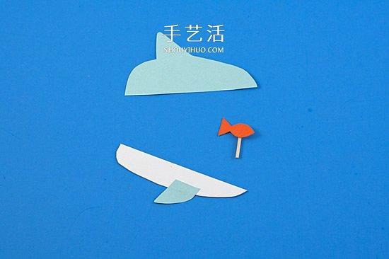 木夹子手工制作鲨鱼玩具 嘴巴开闭吞吃小鱼 -  www.shouyihuo.com