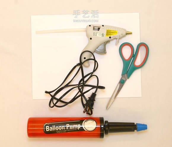 简单自制气球气垫船的制作方法教程 -  www.shouyihuo.com