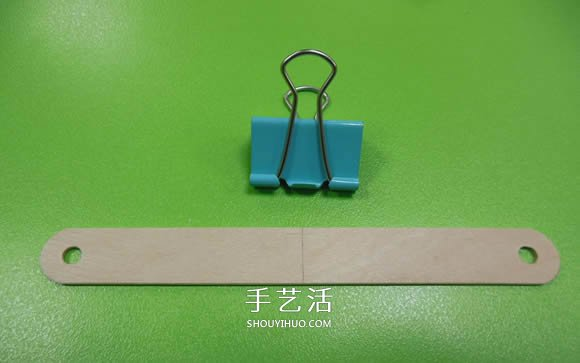 好玩的科技小制作:用雪糕棍制作汽车弹射器 -  www.shouyihuo.com